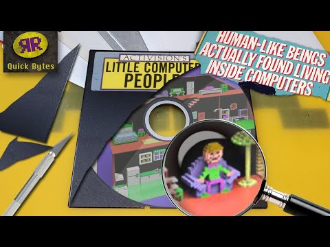 The Secret Way Every Little Computer People Floppy Disk Was Unique | Commodore 64 | Activision