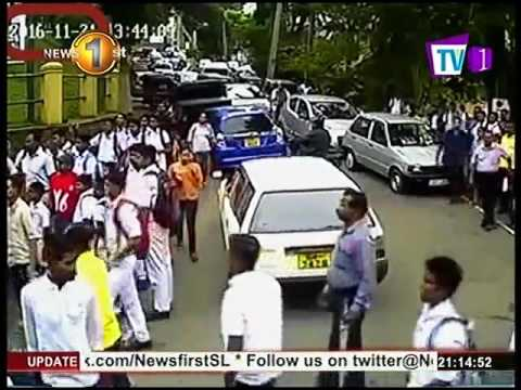 News 1st : Four arrests made over assault on Dharmaraja College student