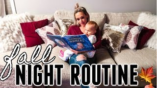 FALL NIGHT TIME ROUTINE| MOM & TODDLER BEDTIME ROUTINE| COOK WITH ME| Tres Chic Mama