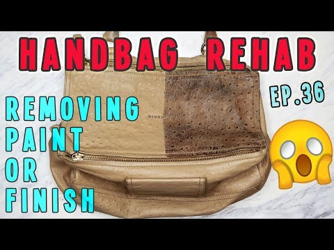 Handbag Rehab EP. 36 | Removing Paint or Finish