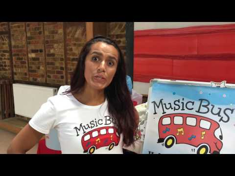 Wimbledon welcomes Music Bus to SW19