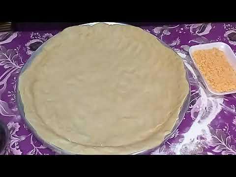 صورة  طريقة عمل البيتزا برنامج مطبخ ام احمد الحلقة 2 طريقة عمل بيتزا الفراخ  (سهلة جدا) طريقة عمل البيتزا بالفراخ من يوتيوب