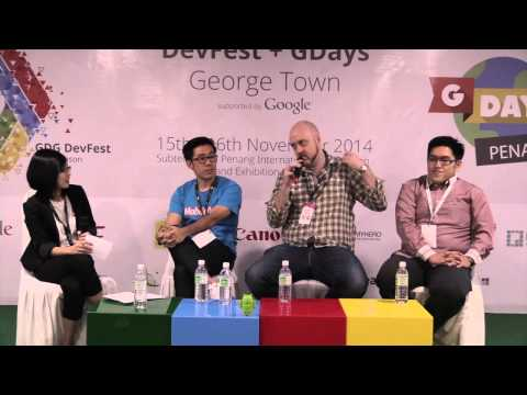 Panel Discussion: Tech Talent in Malaysia - Now & What's Next? [DevFest George Town 2014]