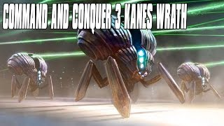 Command and Conquer 3 Kanes Wrath - Scrin Power 3 Player FFA Multiplayer Gameplay