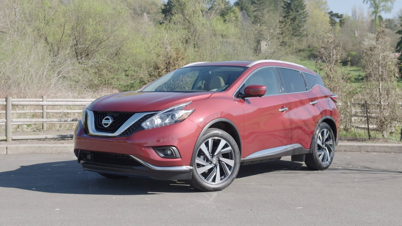 2016 nissan murano platinum awd review autonation youtube. Black Bedroom Furniture Sets. Home Design Ideas