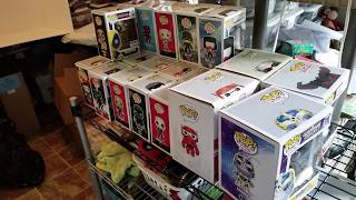 Huge Funko Pop Collection Haul 2018! ROBLES JR. RETURNS!