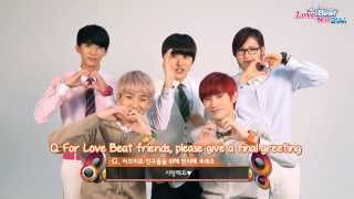 B1A4 Love Beat Interview (Eng Sub)