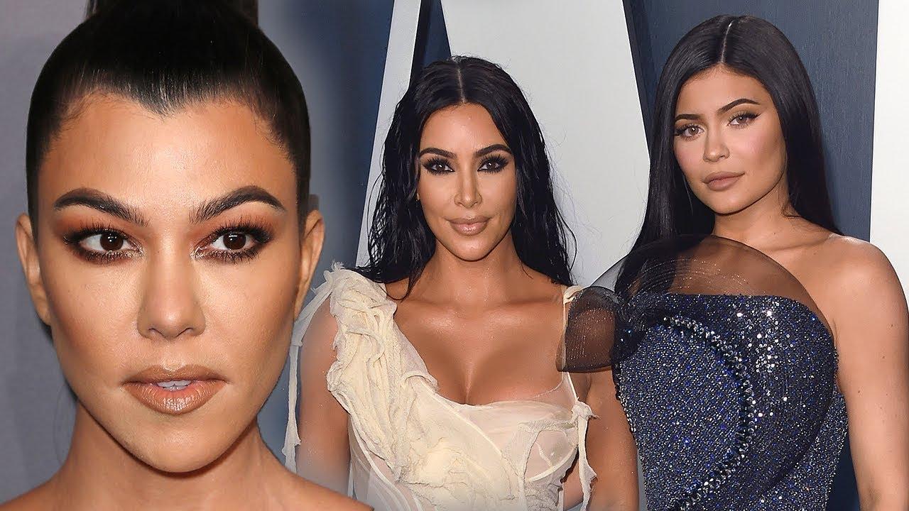 Kylie Jenner & Kim Kardashian Makeup Dissed By Kourtney Kardashian - HollywoodLife