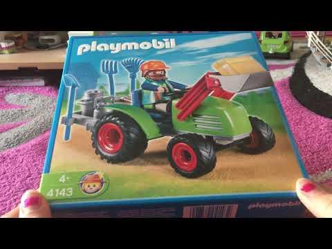 Der Playmobil Traktor und zwei Playmobil Gesellschaftsspiele