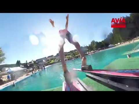 Weltmeisterschaft Wasser-Skispringen