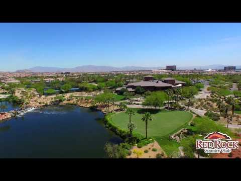 Drone Tour Of Red Rock Country Club Las Vegas