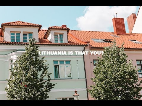 GETTING LOST ON THE WAY TO LITHUANIA (EUROPE VLOG 1)