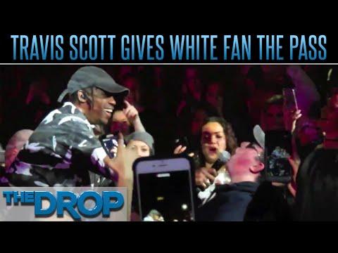 Travis Scott Gives White Fan The N-Word...
