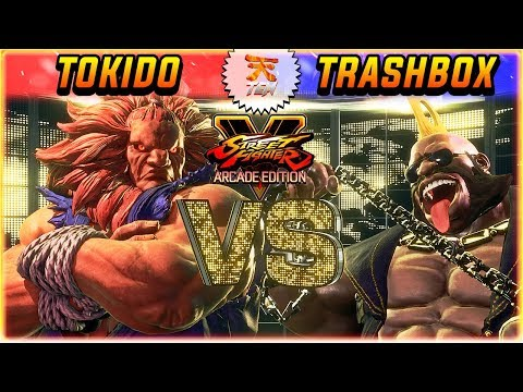 SFV/SF5 3.5 ✪ TOKIDO VS TRASHBOX (RANK 1) | FT5 SET ✪ SFV/SF5 AE