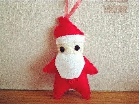 How To Make A Cute Santa Claus Plushie Youtube
