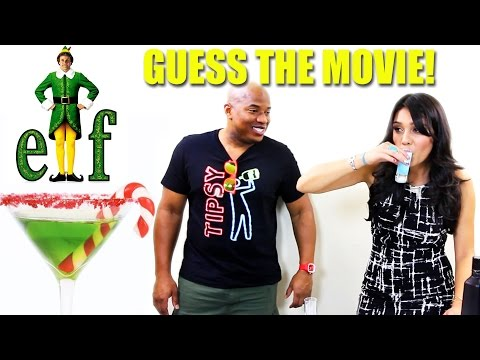 CHRISTMAS MOVIE DRINK CHALLENGE!  with TipsyBartender