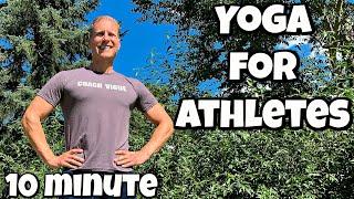 10 min Yoga for Athletes Flow   Sean Vigue