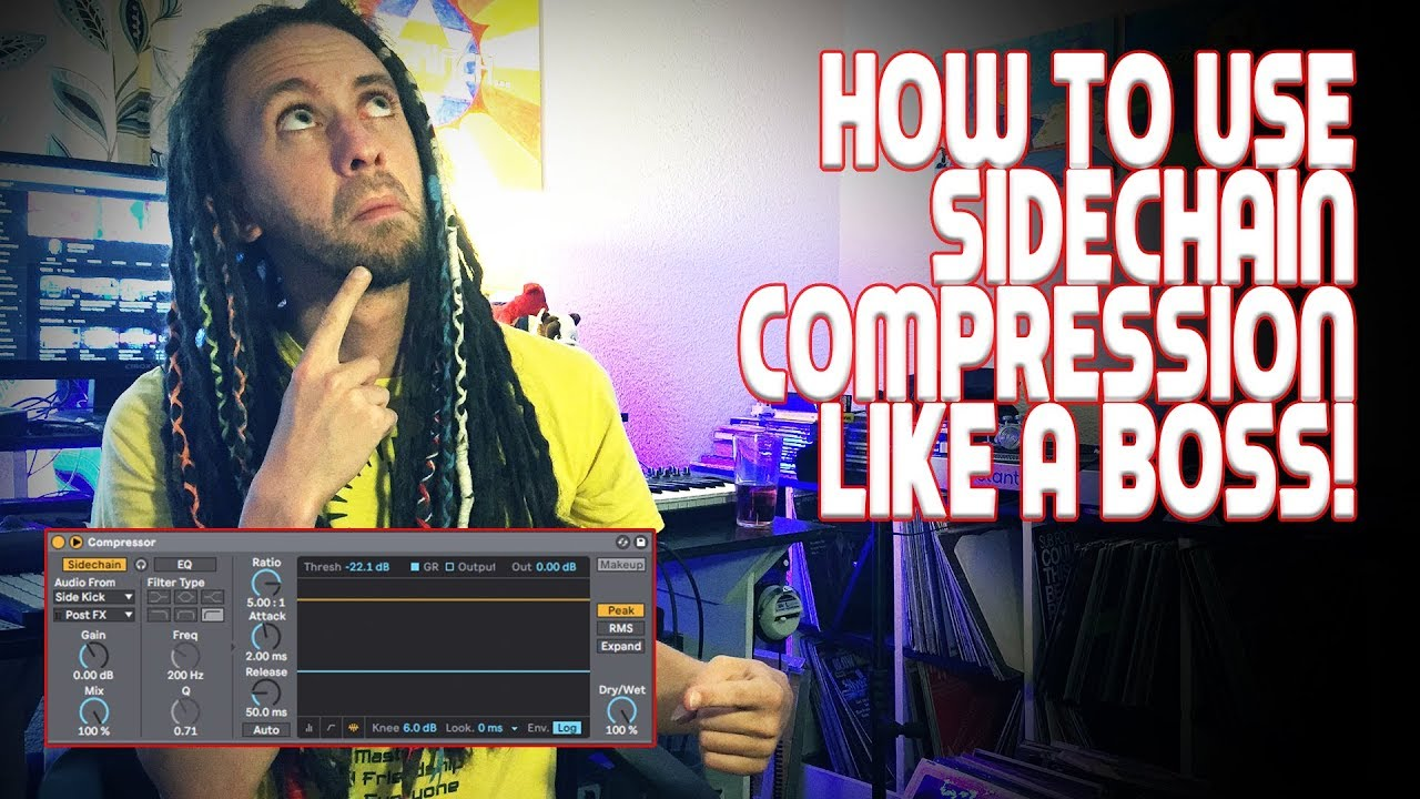 How to use SIDECHAIN COMPRESSION like a BOSS!! | TUTORIALS WITH SKETI