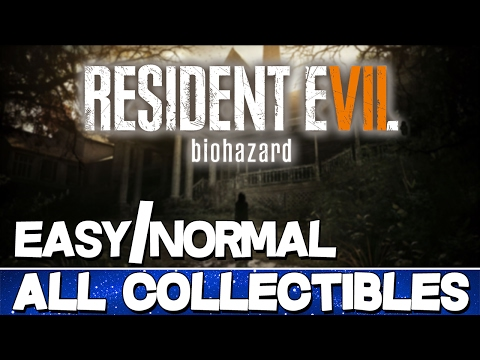 Resident Evil 7 | All Collectibles Guide (Files/Antique Coins/Mr. Everywhere/Tapes) [EASY/NORMAL]