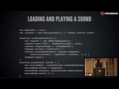 Making The Web Rock: The Web Audio API