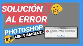 Learn How to Fix error photoshop al abrir jpg | Simple Guide