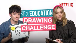 The Sex Education Cast Can't Draw For S**t