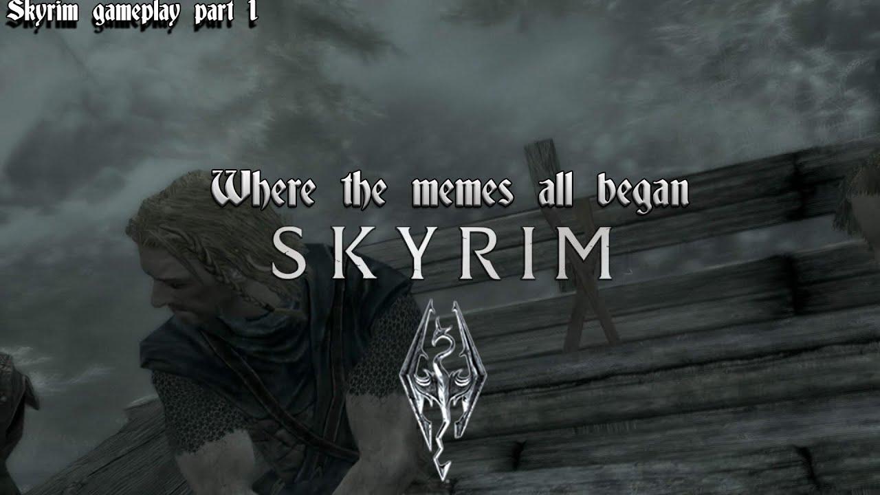The Elder Scrolls V Skyrim ┇Where the memes began with ...