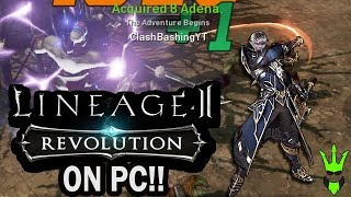 PLAYING LINEAGE 2: REVOLUTION ON PC! - Amazing Graphics and Gameplay!