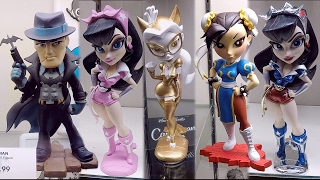 New York Toy Fair 2017 Cryptozoic Entertainment Booth Tour DC Bombshells Vinyl Figures Collection Vi