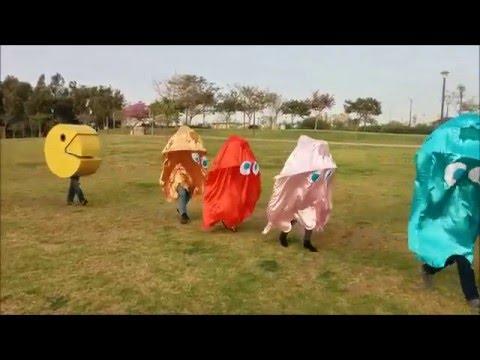 Pacman Costume Purim 2016