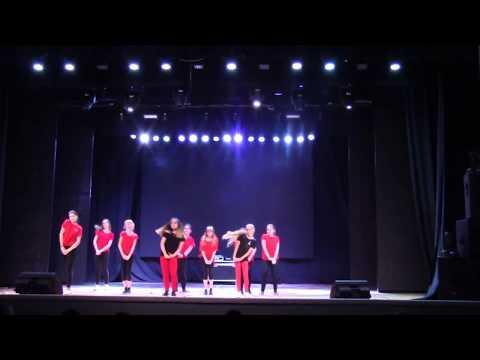 Группа Jazz Funk -  ОТЧЕТНЫЙ КОНЦЕРТ GHETTO HIP-HOP SCHOOL 2017