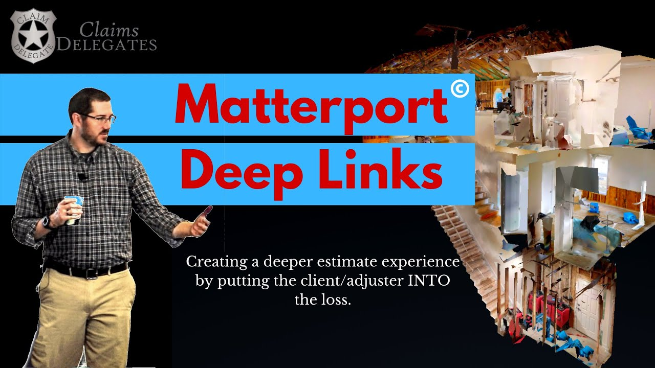 Matterport Deep Links in Xactimate Estimates