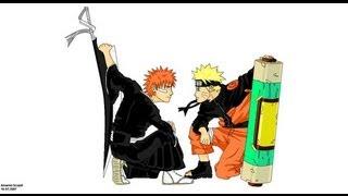 Sprite Battle: Ichigo vs Naruto