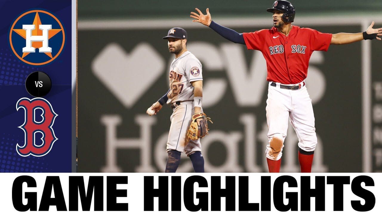 Download Astros vs. Red Sox Game Highlights (6/10/21) | MLB Highlights