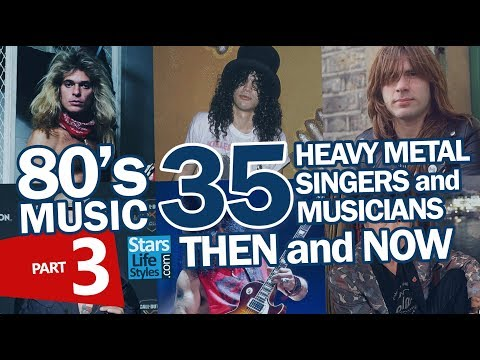 80's Music : 35 Heavy Metal Singers & Musicians Nowadays | Part 3 | Hard Rock Rockstars Then And Now