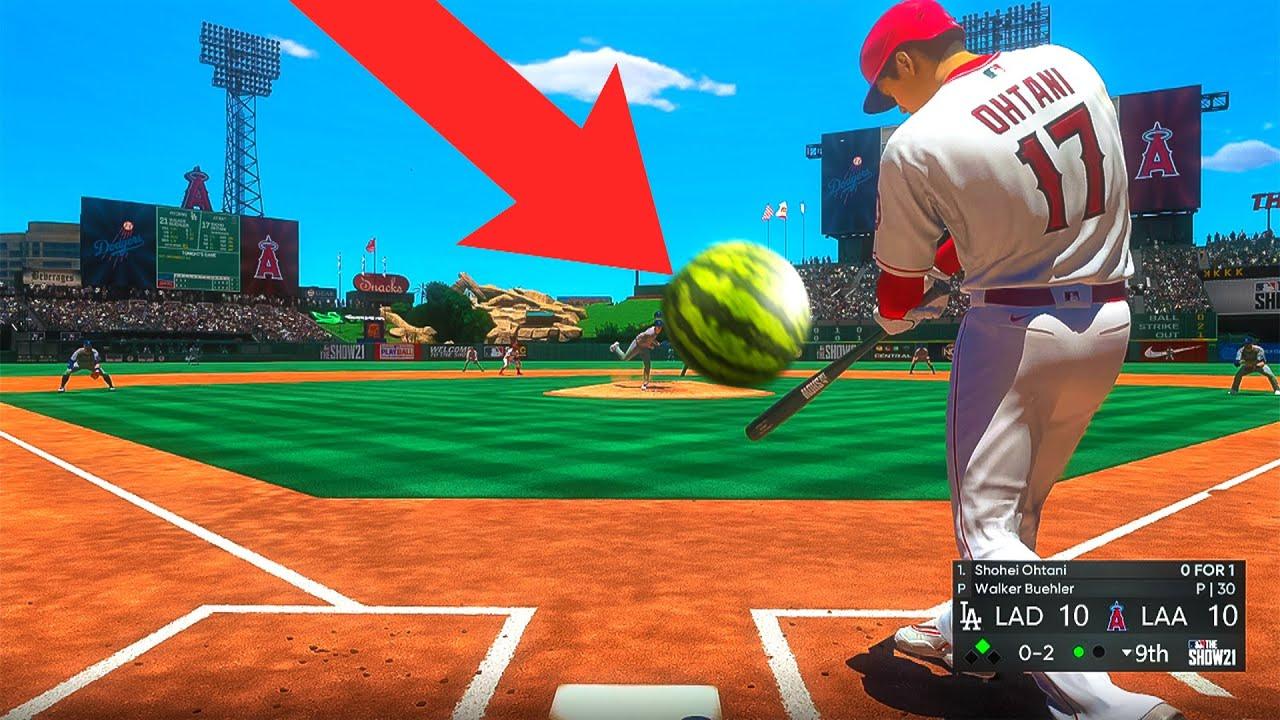 MLB but I'm hitting random objects