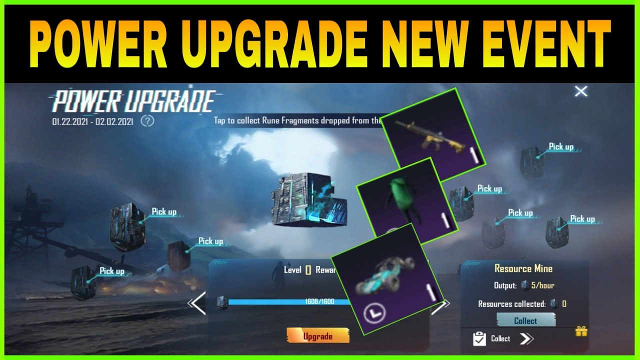 POWER UPGRADE NEW EVENT IN PUBG MOBILE || GET M416 SKIN, CORN SET & AG ||