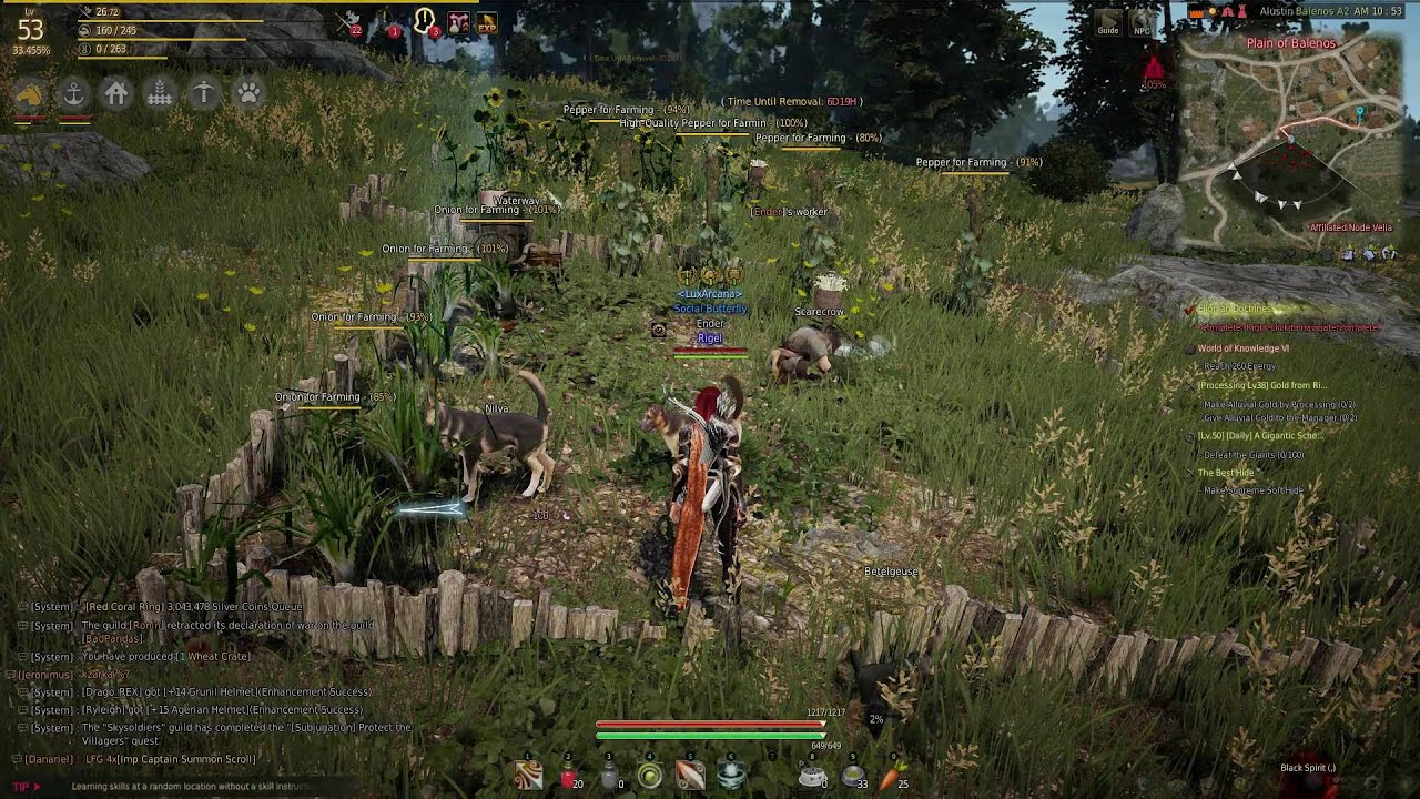 Black desert online how to make workers manage your for Garden maker online