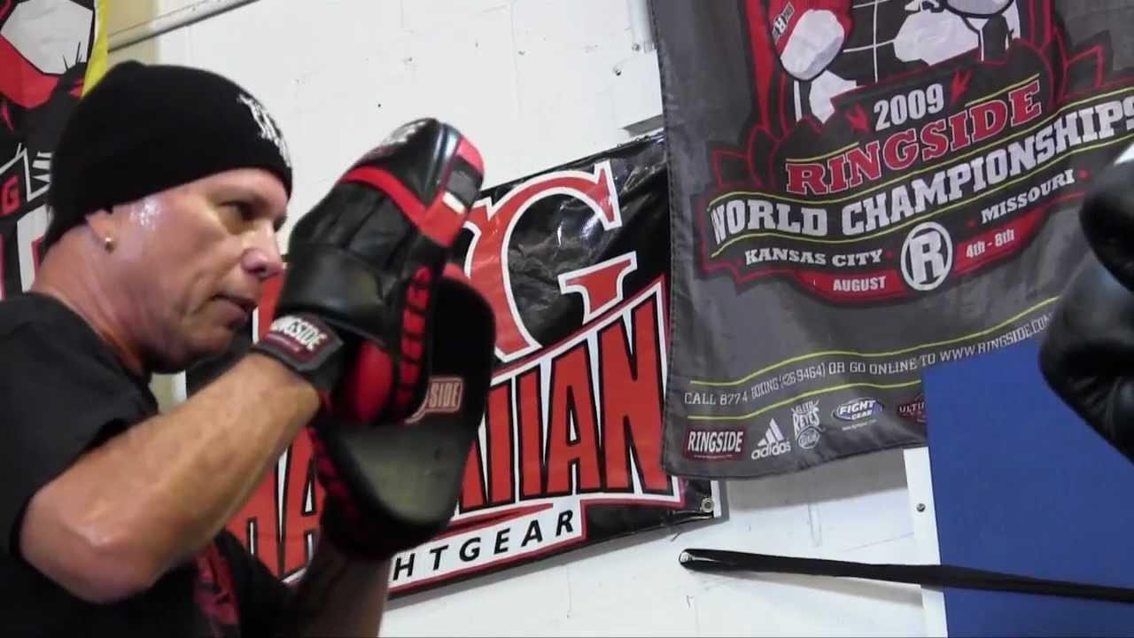 boxing coach usa hawaii rj richardson