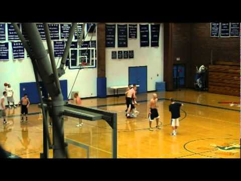 Next step basketball college prospect open gym youtube for How much is it to build a basketball gym