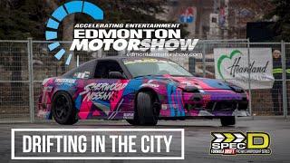 Spec D Drift Demo / Edmonton Motorshow 2019