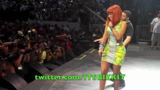 ItsBizkit.com Presents Nicki Minaj Performing Live At Hot 97 Summer Jam 2010