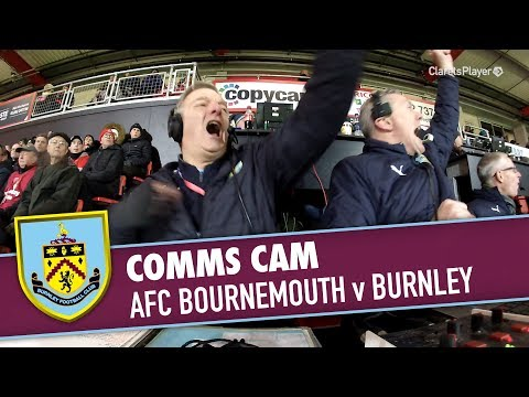 COMMS CAM | AFC Bournemouth v Burnley