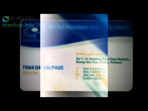In Thẻ Name Card Trong Suốt Đẹp & Chất Lượng   Xưởng In Name Card Trong Suốt