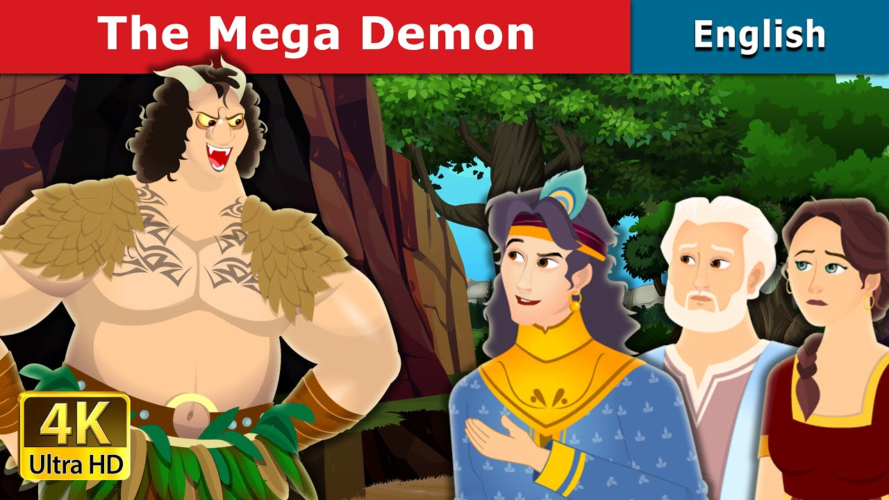 The Mega Demon Story | Stories for Teenagers | English Fairy Tales