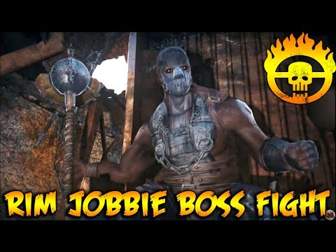 Mad Max - Top Dog Camp - Large Blade - Rim Jobbie Boss Fight Gameplay