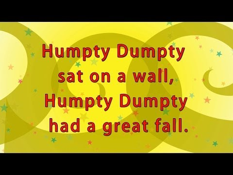 Karaoke Rhymes - Humpty Dumpty Sat On A Wall