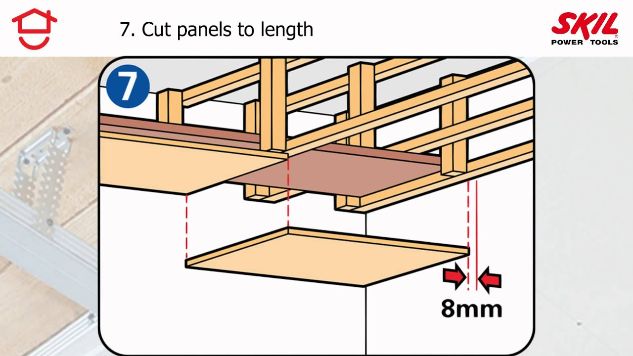 How To Fit A False Ceiling Youtube | False Ceiling On Stairs | Residential | Pvc Panel Ceiling | Kitchen | Traditional | Living Room Hardiflex Ceiling
