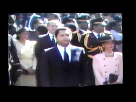 JN-CLAUDE DUVALIER /TE DEUM A LA CATHEDRALE DE PORT-AU-PRINCE 1er JANVIER 1986