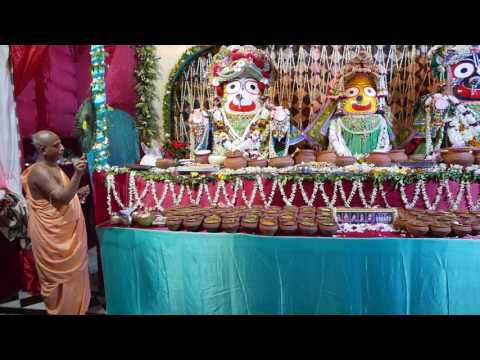 Gundicha mandir chapan bhog offerings very rare darshan of Lord Jagannath